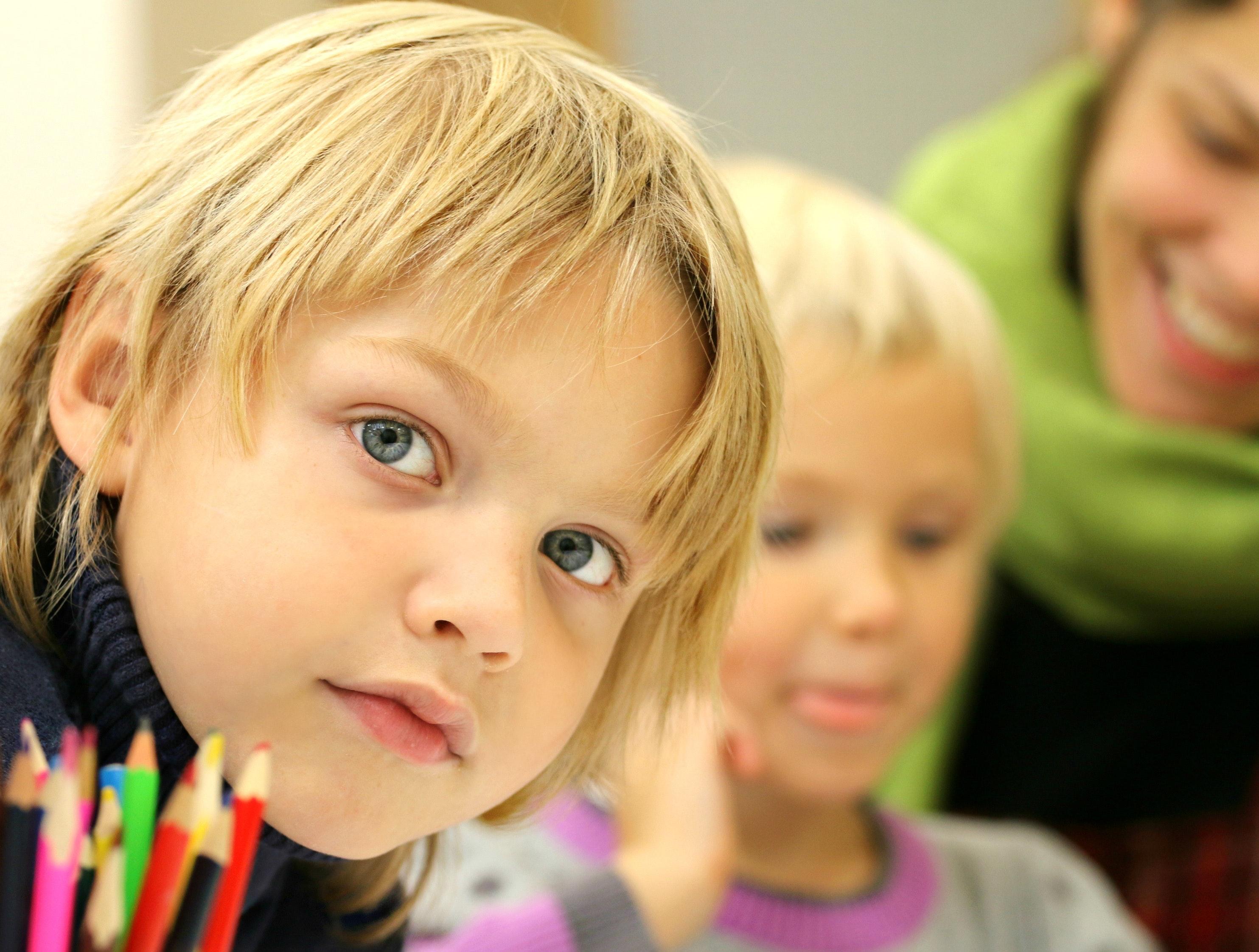 School Kids Loving School